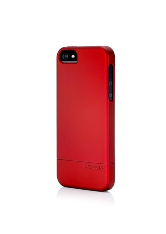 Sleek Slider for iPhone 5:5s Red 3