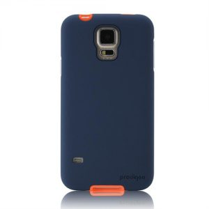Sneaker Galaxy S5 Case Navy : Peach 1